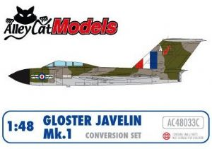 Gloster Javelin Mk.1 Conversion and Decal Set